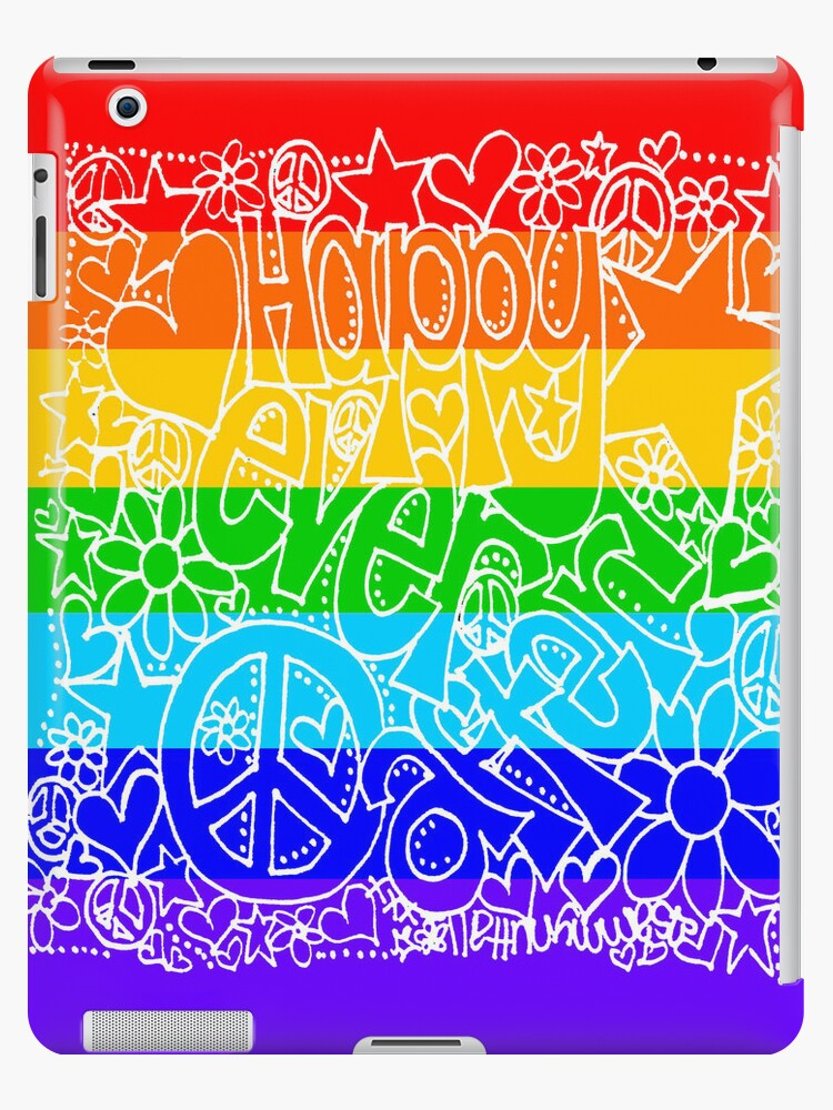Happy Ever After (iPad Case) by Sammy Nuttall