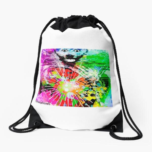 Creature Among Us Drawstring Bag