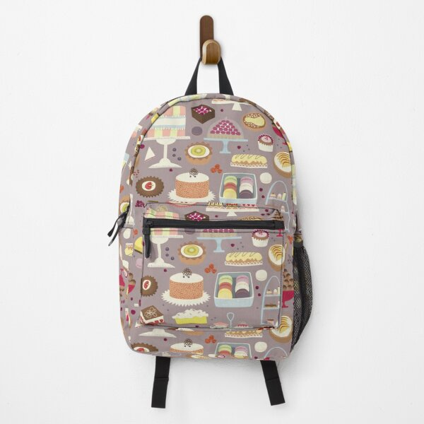 Patisserie Cakes and Good Things Backpack