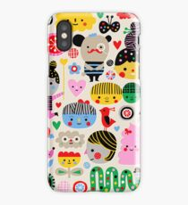 Happy Faces iPhone Case