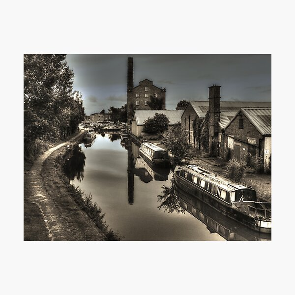 Hovis Mill , Macclesfield Canal, Cheshire Photographic Print