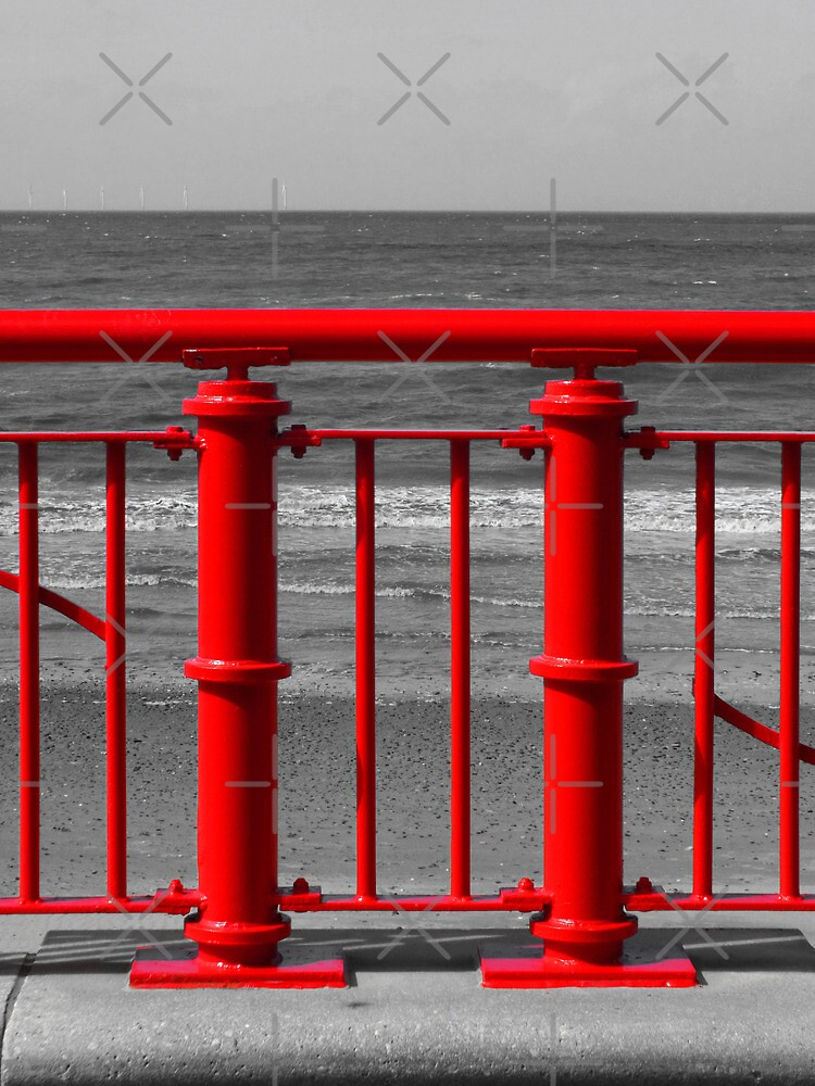 Red Railings by Yampimon