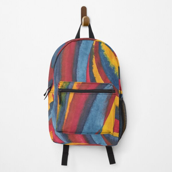 """Life Lines"" watercolor Backpack"