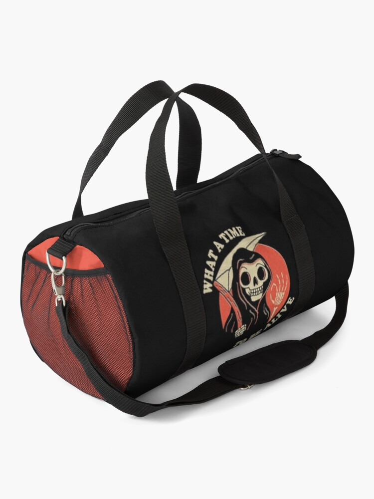 Alternate view of What A Time To Be Alive Duffle Bag