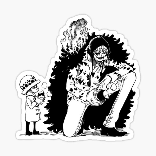 Law & Corazon Sticker