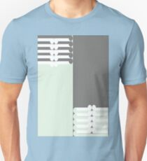 OPPOSITES - abstract geometry - plate 19 T-Shirt