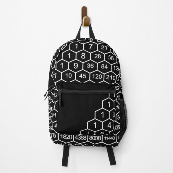 Pascal's Triangle is a triangular array of the binomial coefficients Backpack