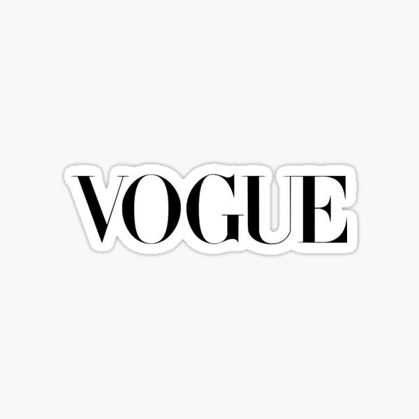 Vogue Logo Sticker
