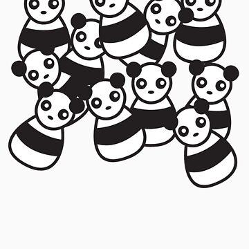 Pandamonium by deepfriedpudge