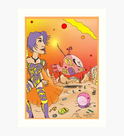 Other days, other Worlds Art Print