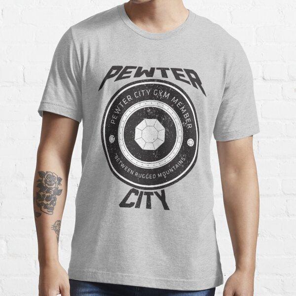 Pewter City Gym Vintage Tee Essential T-Shirt