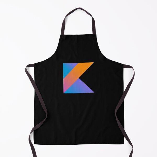 BEST SELLER - Kotlin Programming Logo Merchandise Apron