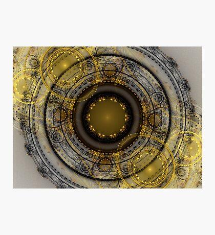 Black Gold Photographic Print