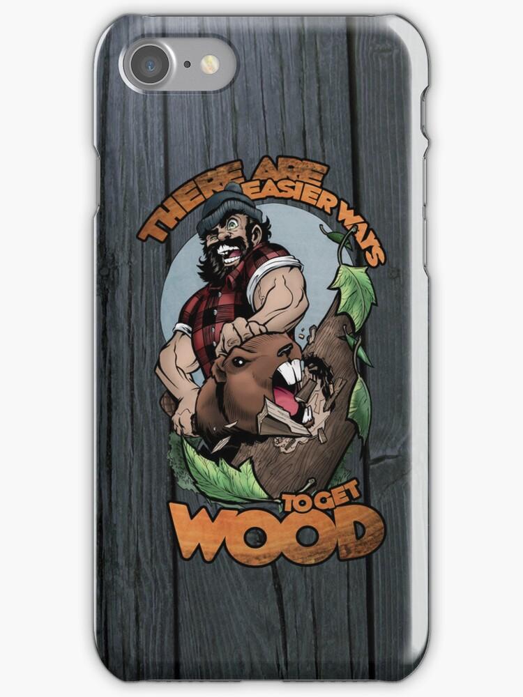 Easier Ways to Get Wood by Joel Vollmer