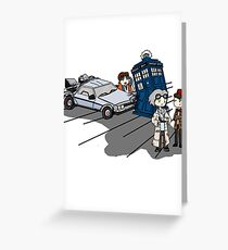Doctor Meets Doctor Greeting Card