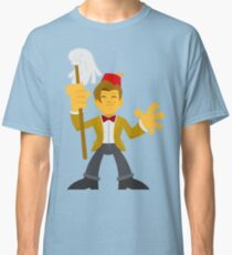 """Matty Doctor Fezzy"" Sticker Classic T-Shirt"