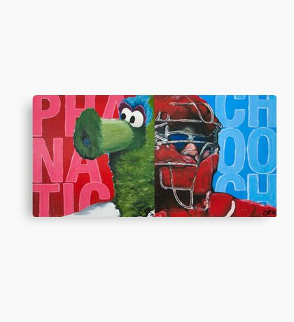 Phanatic and Chooch Diptych Painting Canvas Print