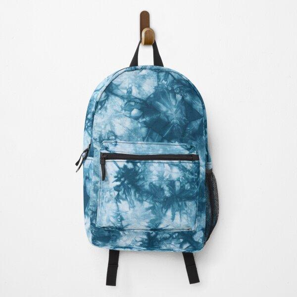 Tie Dye Blue Backpack