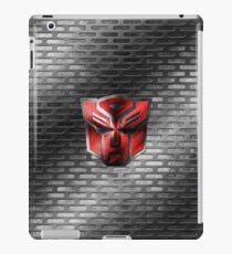 Autobot Symbol - Damaged Metal 2 iPad Case/Skin
