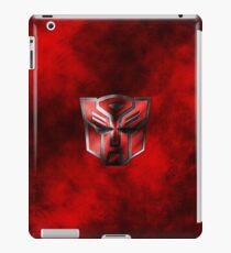 Autobot Symbol - Damaged Metal 3 iPad Case/Skin