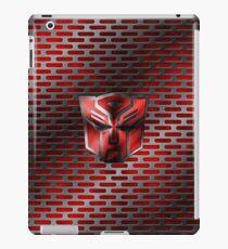 Autobot Symbol - Damaged Metal 4 iPad Case/Skin