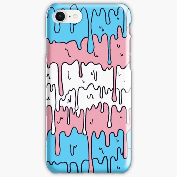 Pastel Kawaii Melting Trans Pride LGBTQ Design iPhone Snap Case
