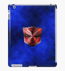Autobot Symbol - Damaged Metal 5 iPad Case/Skin