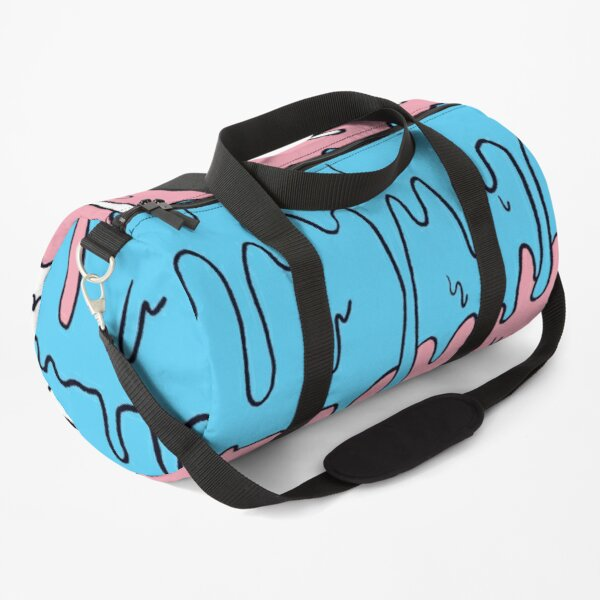 Pastel Kawaii Melting Trans Pride LGBTQ Design Duffle Bag