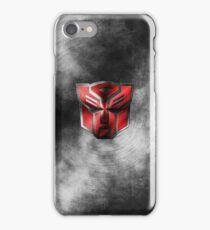 Autobot Symbol - Damaged Metal 1 iPhone Case/Skin
