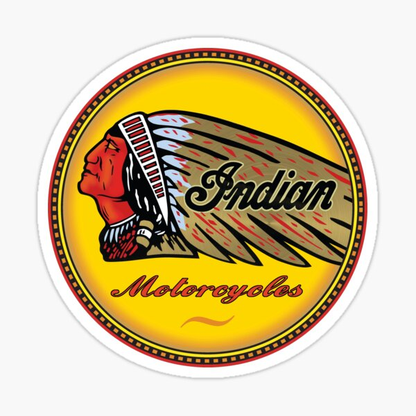 Indian Motorcycle Classic Logo Sticker