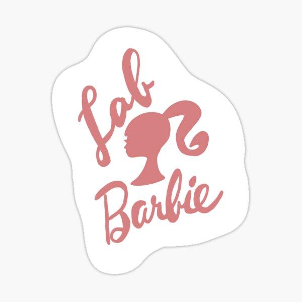 Lab Barbie Sticker