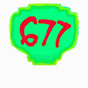 Sign 677 channel logo by KcLee677