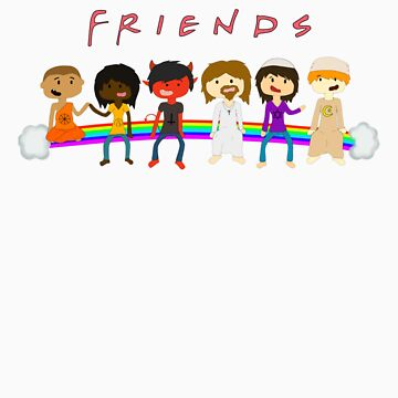 FRIENDS by ThatPandaBear