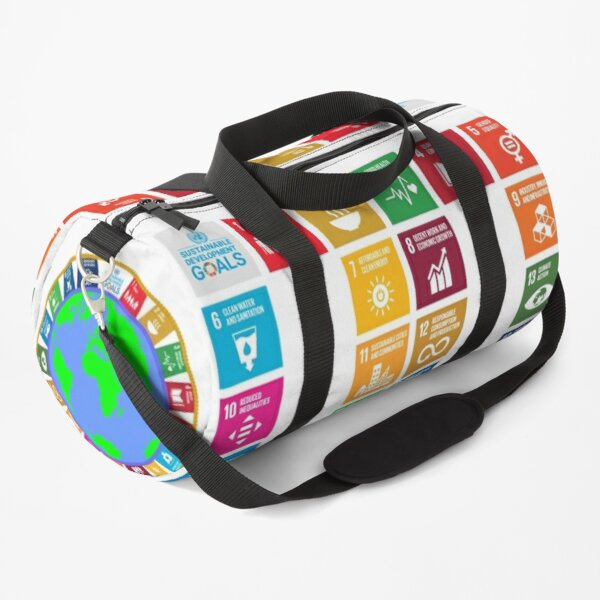 The Sustainable Development Goals - English Version (All profits are for a reforestation project.) Duffle Bag