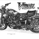 YAMAHA VMAX by Steve Pearcy