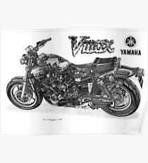 YAMAHA VMAX Poster