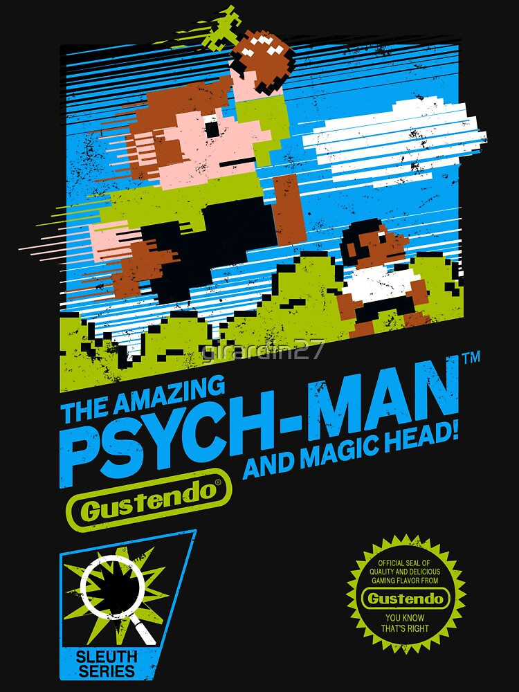 The Amazing Psych-Man!! (and Magic Head) | Unisex T-Shirt
