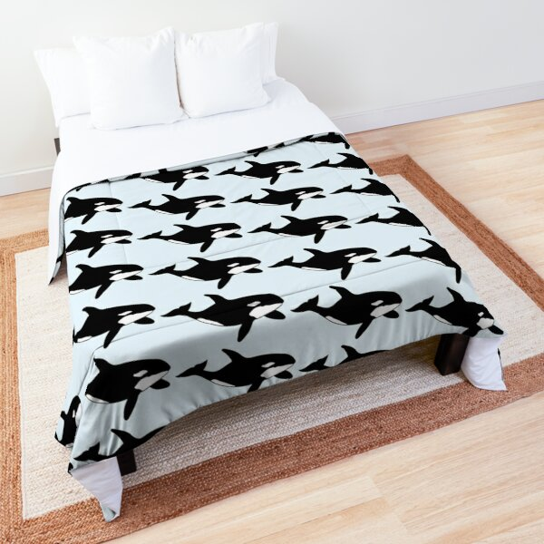 Orca Whale Comforter