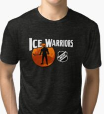 Ice Warriors - Martian Hockey League Tri-blend T-Shirt