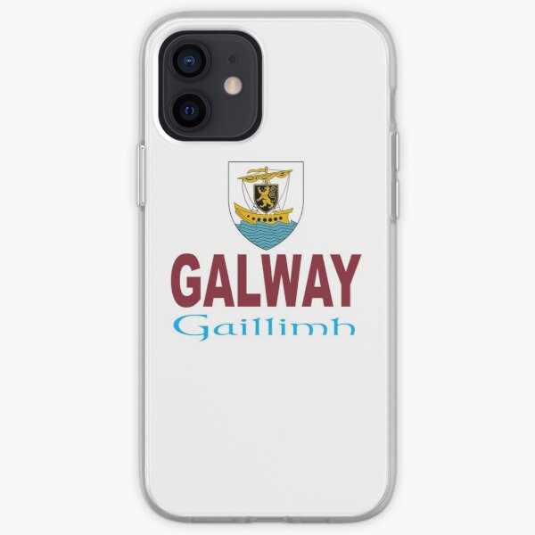 Galway - City of The Tribes iPhone Soft Case