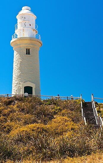 Bathurst Lighthouse - Rottnest Island by John Pitman