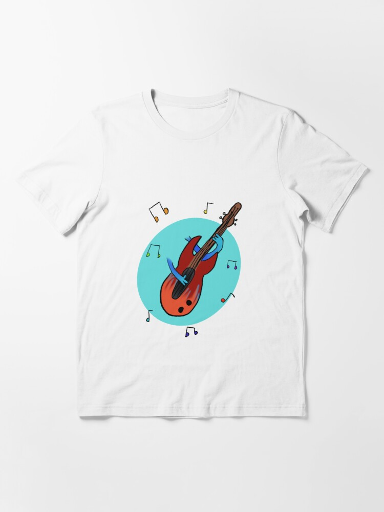 Alternate view of Bass Guitar Player Essential T-Shirt
