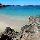 Salmon Bay - Rottnest by John Pitman
