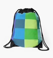 Cool Color Flannel Drawstring Bag