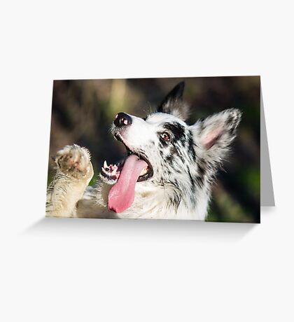 Hellow Greeting Card