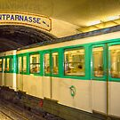 Train to Monparnasse, Paris by Elana Bailey