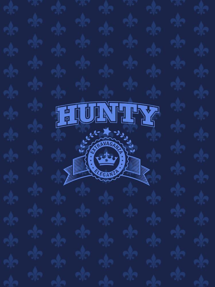 Hunty - Navy Blue by feastoffun