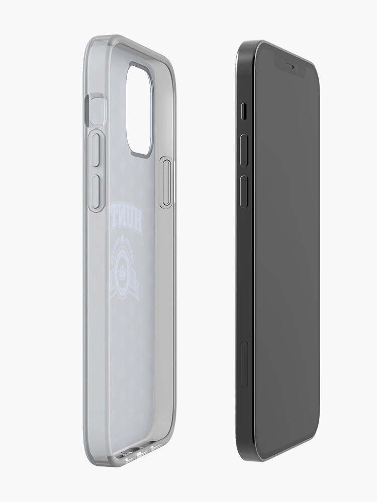 Alternate view of Hunty - Navy Blue iPhone Case & Cover