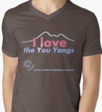 I love the You Yangs - dark background 2 Men's V-Neck T-Shirt