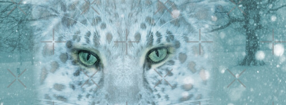 Snow Leopard Day by Vin  Zzep